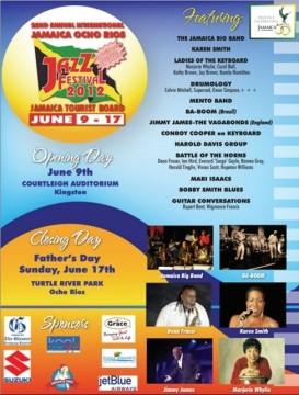 Jamaica Ocho Rios Jazz Festival 2012, June 09-17