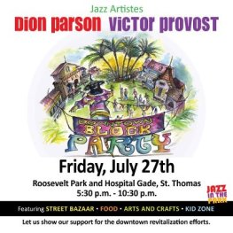 Jazz in the Park featuring Dion Parson and Victor Provost