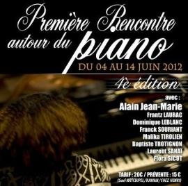Première Rencontre autour du piano, June 04-14, Guadeloupe