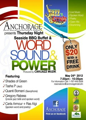Word, Sound & Power, Anchorage Hotel, May 24  2012